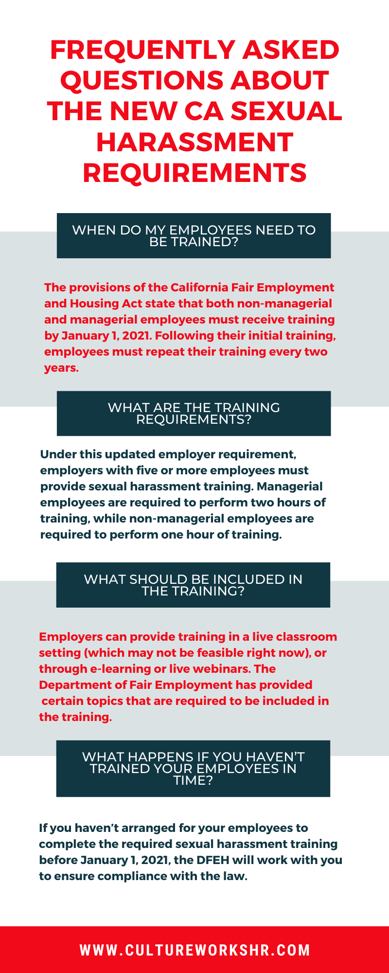 What do the new sexual harassment training laws mean for your business?