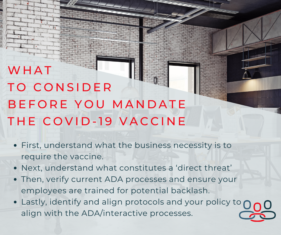 what employers need to know about the covid vaccine