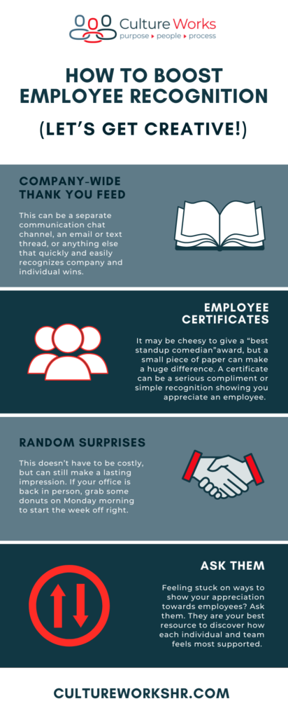 How to Boost Employee Recognition (Let's Get Creative!)